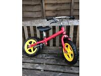 Sturdy balance bike with break. Excellent condition