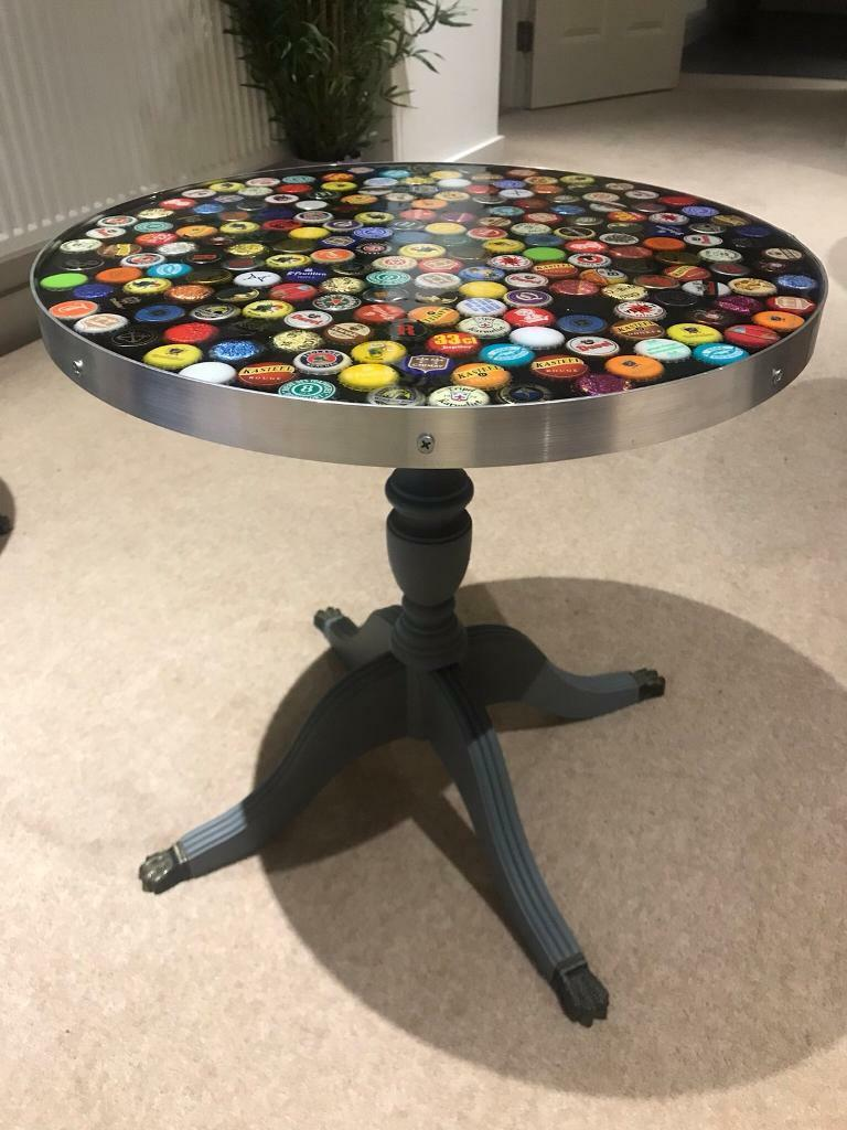 Admirable Epoxy Resin Beer Bottle Caps Coffee Table In London Gumtree Alphanode Cool Chair Designs And Ideas Alphanodeonline