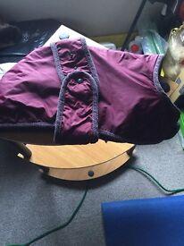 Dog coat size 23 inches