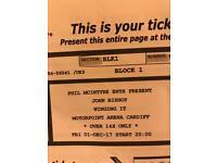 2xJohn Bishop Tickets 1st Dec