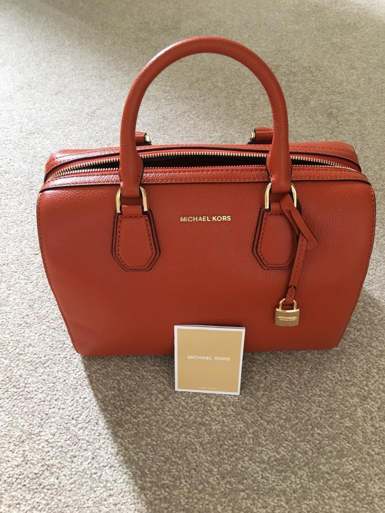 Michael Kors - Orange Bag - New Without Tags - Genuine Item (RRP: £315)