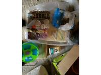 Small animals cage with extras