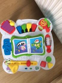 Leap frog musical activity centre