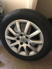 "16"" Vauxhall Astra wheels & tyres"