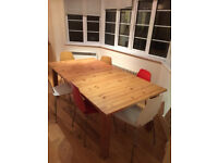 Ikea dining table plus 6 chairs