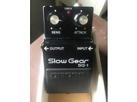 Guitar Effect - Boss Slow Gear SG-1