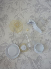Used Avent Manual Natural Breast Pump