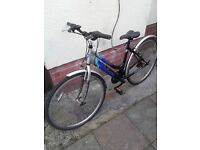 Lightweight alloy hybrid cycle/bike/bicycle