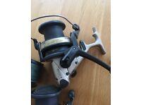 2 X Emblem - S 5000T Reels 1 spare spool