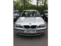 BMW 318i, HPI Clear, FULL YEAR MOT , Mileage 95278 LOW MILEAGE
