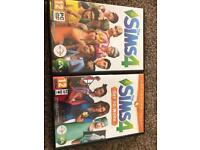 Sims 4 + Sims 4 Get to Work