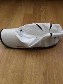 Used Mens Nike White Baseball Cap Dry-Fit