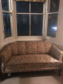 Attractive Victorian style sofa circa 1910/20