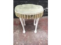 Beautiful round dressing table stool
