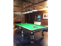 9ft steel block Cushion snooker/Pool table