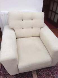 Sofa and 2 armchsirs