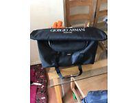 Armani over night bag brand new!!!