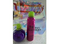 Bed head small talk and head rush gift set