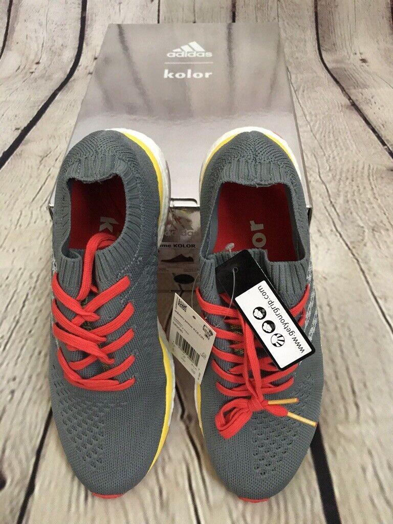 Brand NEW! Adidas AdiZero Prime Kolor Boost Shoe Grey Men's SZ 8 (DB2545) 1