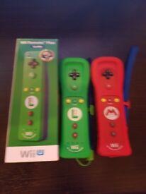 Mario & Luigi Wii U Controllers.