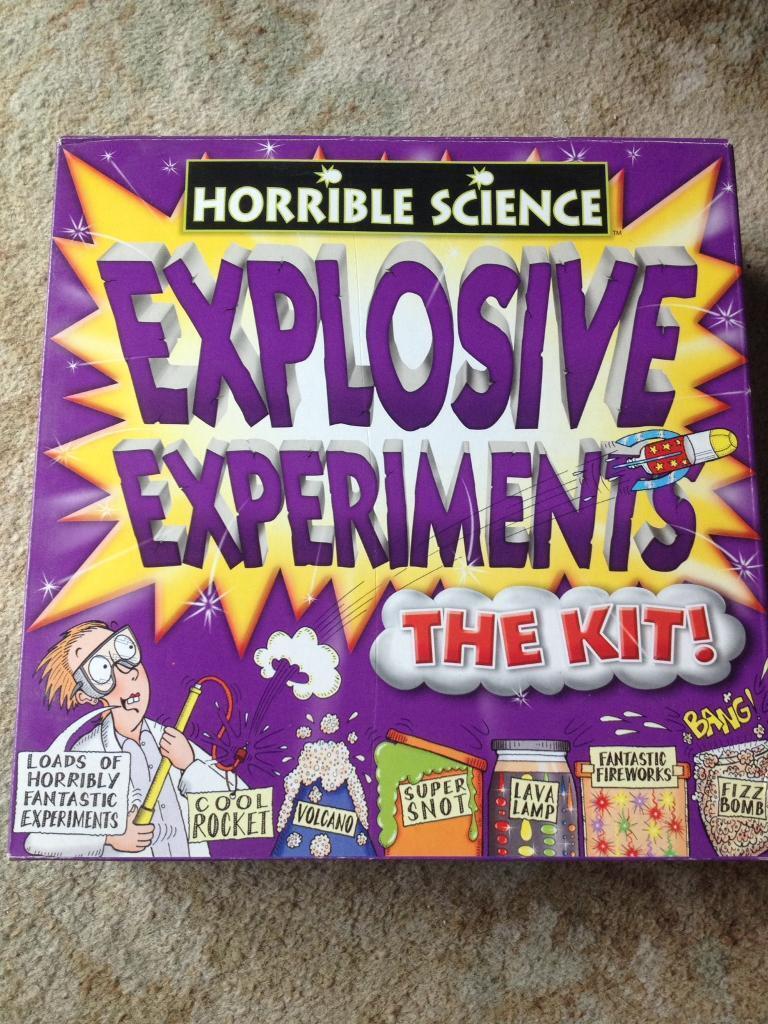 Explosive experiments kit