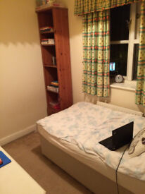Single room with private bathroom 350pcm bill included