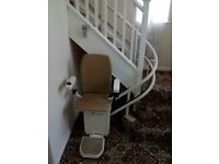 stair lift platinum curved