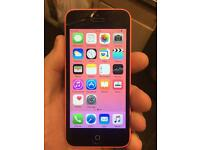 iPhone 5c pink 16 gb unlocked