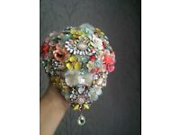 * BROOCH BOUQUET * one of a kind wedding bouquet