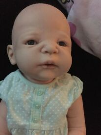 reborn girl full bodied doll beautiful conditions