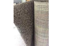 Next Light brown shaggy rug