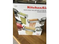 Kitchen Aid Pasta Sheet Roller and cutter set.