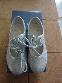 Silver Tap Shoes J8