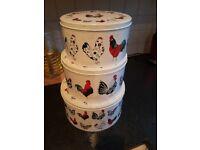 3 Cake tins