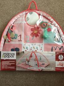 Mamas&Papas babies playmat & gym pink