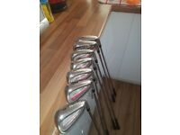 Golf irons cleveland 4 to pw good condition selling as bought a new set.