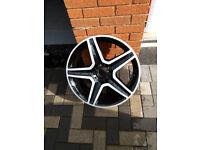 Genuine Mercedes 19 inch alloy wheel for GLA.