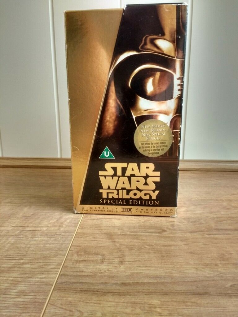 Star Wars Trilogy Vhs Tapes In Worthing West Sussex Gumtree