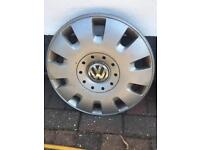 """VW T5 16"""" steel wheels with tyres/ trims"""