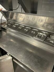 Sandwich bar or Cafe catering equipment