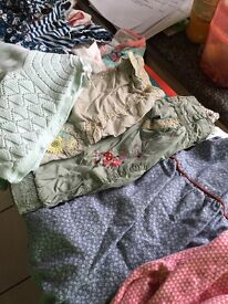 Baby girls clothing bundle 6 to 12 month