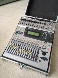 Yamaha 01v Digital Mixer and flight case