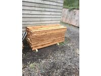 500 5 ft Featheredge boards