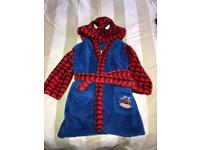 Boys Spider-Man Dressing Gown 4-5 years