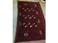 Hand Made Wool rug 170 cm x 100cm