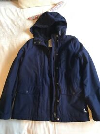 Navy Jack wills hooded jacket
