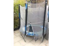 6ft Kid Active! Trampoline with Enclosure