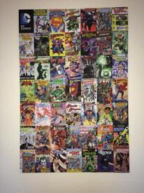 DC Comics wall art