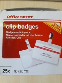clip badge