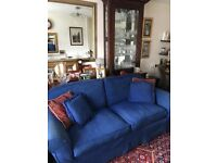 Large thee seater sofa meets fire regs. excellent condition. 07900048994